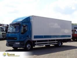 closed box truck DAF 14.210 + Euro 5 + Dhollandia Lift 2014