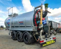 tank semi trailer semi trailer KAESSBOHRER V2A Gülle 30 m³, Lift + Lenkachse, MIETEN? 2019