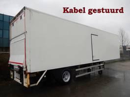 closed box semi trailer Netam-Fruehauf 1 As Oplegger Gesloten, OD-14-GX 1994