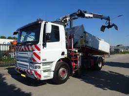 tipper truck DAF CF 310 75 CF 310 EURO 5 / 3 ZIJDIGE KIPPER + CRANE / KEURING / TUV !! 2007