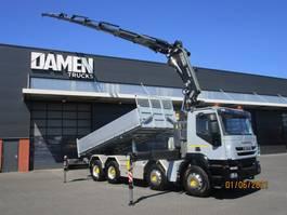 tipper truck > 7.5 t Iveco 340T45 Trakker 8x4 Euro 5 2011