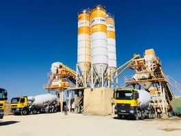 concrete batching plant FABO POWERMIX-160 STATIONARY CONCRETE BATCHING PLANT 2021