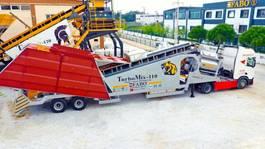 concrete batching plant FABO TURBOMIX-110 Mobile Concrete Batching Plant 2021
