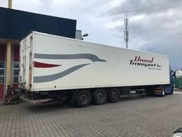 closed box semi trailer spier kasten trailer / boxtrailer met laadklep 2007