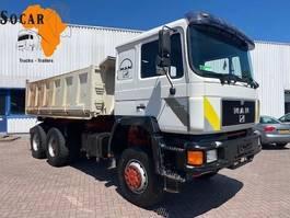 tipper truck > 7.5 t MAN 32.362 6x6 KIPPER 1992
