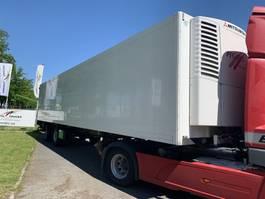 refrigerated semi trailer Krone KRONE 2 asser gestuurd met achterlaadklep tridec 2009