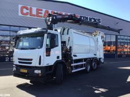 garbage truck Ginaf C 3127 Hiab 21 ton/meter laadkraan 2010