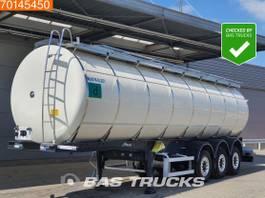 Tankauflieger Menci STC 33.000 Ltr / 3 Comp / Food 2015