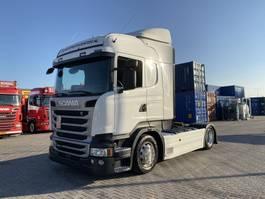 mega-volume tractorhead Scania R 410, highline, MEB, mega, low deck, German 2016