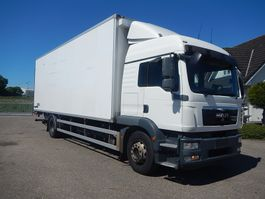 closed box truck MAN TGM 18.290 Box 2012