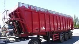 tipper semi trailer Stas 45 m³ kipper (2 stuks) 2006