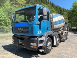 concrete mixer truck MAN 32.350 TGA **Liebherr 9m3/Blatt/Schaltgetriebe** 2006