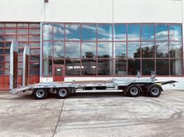 lowloader trailer Möslein T 4 VB F 4 Achs Tieflader- Anhänger, Neufahrzeug 2021