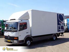 closed box truck Mercedes-Benz Atego + Euro 2 + Dhollandia Lift + BLAD-BLAD 1999
