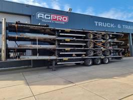flatbed semi trailer LAG O-3-GT 50 2011