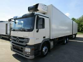 refrigerated truck Mercedes-Benz Actros 2541 L Kühlzug + Tandem-Anhänger 2 X LBW 2013