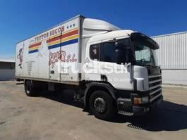closed box truck Scania P94DB 230CV 2002
