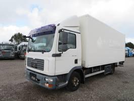 closed box truck MAN TGL 7.150 4x2 Koffer / Box