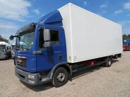closed box truck MAN TGL 12.240 4x2 Euro 5 2011