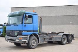 container truck Mercedes-Benz Actros 2631 CONTAINER SYSTEEM- CONTAINER SISTEEM- CONTAINER HAAKSYSTEEM- SYSTEME CONTENEUR 2001