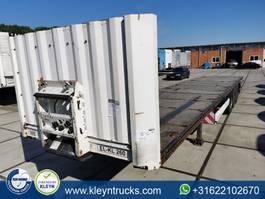 flatbed semi trailer Krone SDP twistlocks pot holes 2011