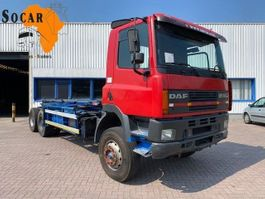 chassis cab truck DAF CF 85 6x4 1996