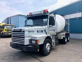 concrete mixer truck Scania T92 -280HL LONG-NOSE FULL STEEL CONCRETE MIXER (MANUAL GEARBOX / FULL STEEL ... 1987