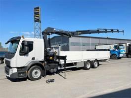 crane truck Volvo FE250 6x2 Nosturiauto 2017