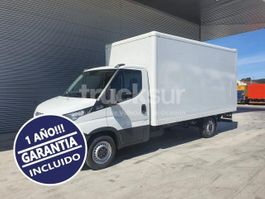 closed box truck Iveco DAILY 35S16 2018