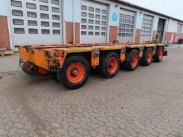 lowloader semi trailer Goldhofer THP/ET 5 2005