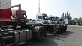 container chassis semi trailer D-TEC 45' HC polyvalent containerchassis 2012
