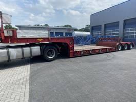lowloader semi trailer Broshuis 3 AUD-48, EURO, Extandable, Bed:5.450 + 3.450 mm, Kesselbed 2002