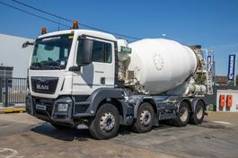 concrete mixer truck MAN TGS 32.360 BB+E6+MIXER 9M³ 2016