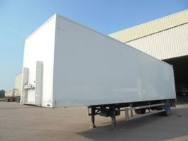 closed box semi trailer Groenewegen DROS 1010-B 2000