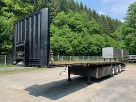 flatbed semi trailer Krone SDP 27 ** Plateau / Verbreiterbar / Liftachse ** 2010