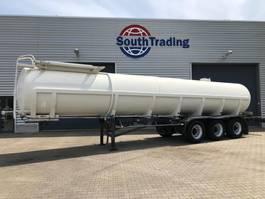 tank semi trailer semi trailer LAG 24.500 ltr aluminium tank 1985