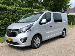closed lcv Opel L1H1  dubbele cabine   6 persoons   Airco   Navi + Camera 2019