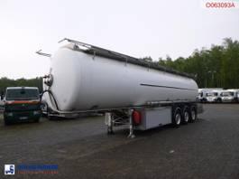 tank semi trailer semi trailer MAISONNEUVE Fuel / oil tank inox 37.3 m3 / 11 comp + dual pump / counter 2012