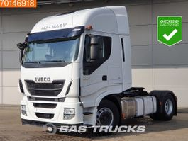 cab over engine Iveco Stralis 480 4X2 Intarder ACC 2x Tanks Euro 6 2016