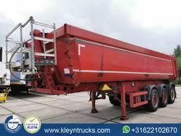 tipper semi trailer Schmitz Cargobull SGF*S3 isolated 28m3 steel 2013