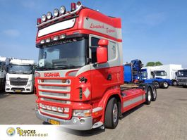 chassis cab truck Scania R + Manual + Retarder 2006