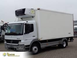 refrigerated truck Mercedes-Benz Atego + Manual + Carrier Supra 750 + Dhollandia Lift 2008