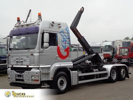 container truck MAN TGA 26.500 + Manual + Euro 5 + Hook system+euro5 2007