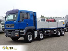 platform truck MAN TGA 41 + Manual + PTO + 8X4 + blad-blad 2005