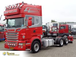 chassis cab truck Scania R + Retarder + Euro 5 + 6X2 2011