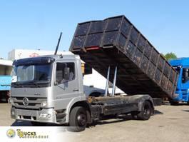 tipper truck > 7.5 t Mercedes-Benz Atego + Manual + Kipper 1999