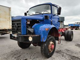 chassis cab truck Renault GLR 230 4x4 1990