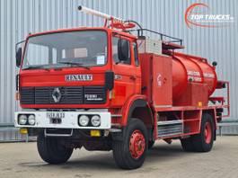 tank truck Renault G290 4x4 -Watertank, L'eau, Wasser 10.000 ltr. - Tankwagen - Spuit, Spray, Sp... 1989