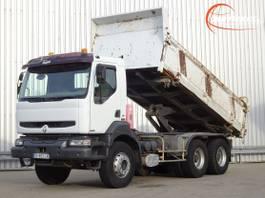 tipper truck > 7.5 t Renault Kerax 370 DCI 6x4 Kipper, Tipper - Manuel 2005