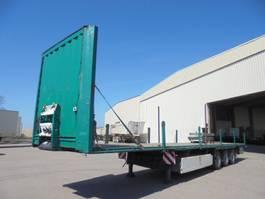 flatbed semi trailer Krone SD 2012